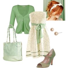 """Minty Fresh"" by kaseyofthefields on Polyvore"