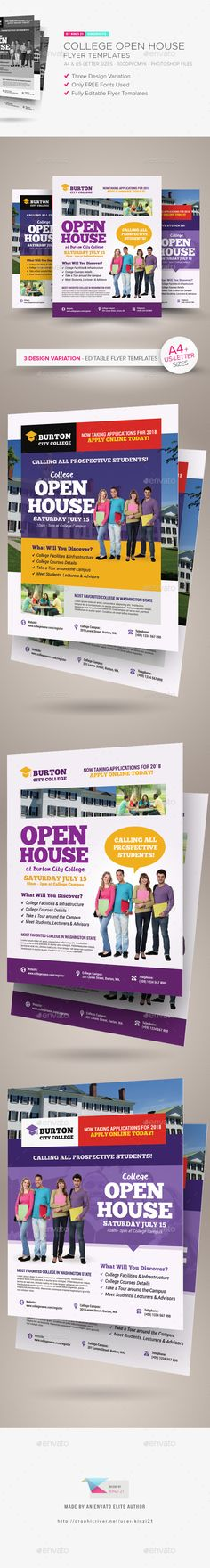 Open House Flyer with Rate Information Open House Sample Flyers - open house templates
