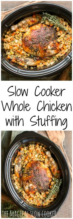 Slow Cooker Whole Ch