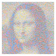 VoidWorks' Emojify app for iOS lets you turn photos into a collage of emoji art. Simply snap a new photo or choose one from your album, once you have a picture ready, you get to adjust the size of the emoji's that make it up as well as the contrast levels.