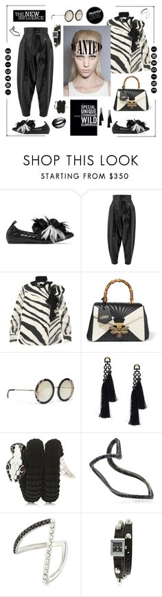 """The new influence"" by zabead ❤ liked on Polyvore featuring Lanvin, Wanda Nylon, Gucci, Alice + Olivia, Vivienne Westwood, Tamara Donalli, SeeMe and Yvonne Léon"
