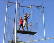 Trapeze - another thing to cross off my bucket list!