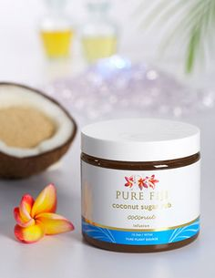 Pure Fiji coconut sugar rub.  I want to eat it!