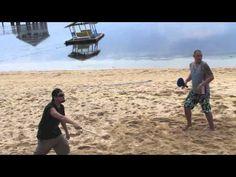 BEACH TENNIS FUN ON THE SAND