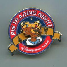 Disneyland Paris DLP Pin trading Night - Prince John (No number on the back)