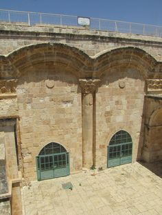 inside the eastern gate or the golden gate that is in the jerusalem s ...