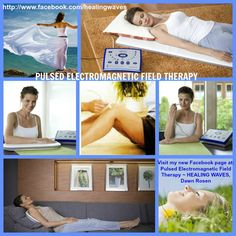 """PULSED ELECTROMAGNETIC FIELD THERAPY ~ Inspiring people to heal themselves using pulsed electromagnetic fields.  PEMF's are a form of physical therapy, and are becoming a very important part of the """"new"""" medicine as people look to move away from toxic, invasive and ineffective treatments. ~ DAWN ROSEN/MediConsult Certified Health Technician using ® FDA Approved MRS2000+ designo  MED System ® is ONLY $4790  and includes local pad and probe applicator  www.facebook.com/healingwaves"""