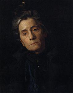 "Thomas Eakins Portrait of Susan MacDowell Eakins1899  Somewhere I read that Eakins ""painted no lies"" :)"