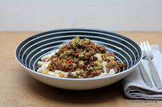 Schöner Tag noch! Food-Blog mit leckeren Rezepten für jeden Tag: Scharfe Pasta mit Knoblauchjoghurt und Minze-Pinie...