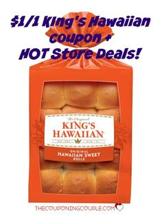 PRINT NOW!! There is a new $1/1 King's Hawaiian Bakery Products coupon! Get a HOT deal at Target, Walmart or your favorite store!!  Click the link below to get all of the details ► http://www.thecouponingcouple.com/new-1-001-kings-hawaiian-bakery-products-coupon-hot-deals/  #Coupons #Couponing #CouponCommunity  Visit us at http://www.thecouponingcouple.com for more great posts!