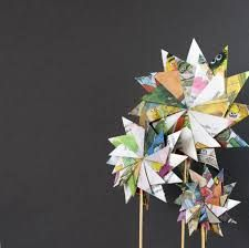 Image result for large outdoor flower sculpture recycled