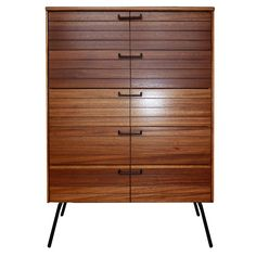 Mid-Century Modern Chest of Drawers by Raymond Loewy for Mengel