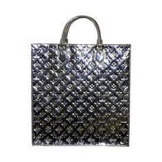 Louis Vuitton silver tote