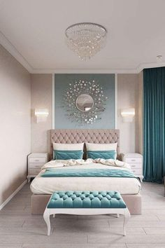 11 Modern and Luxurious Bedrooms With Baroque Style 01 Romantic Farmhouse Master Bedroom Ideas 53 Modern Bedroom Design Ideas That Very Recommended This Year Simple Bedroom Design, Luxury Bedroom Design, Master Bedroom Design, Home Decor Bedroom, Interior Design, Bedroom Furniture, Bedroom Designs, Diy Bedroom, Bedroom Wall
