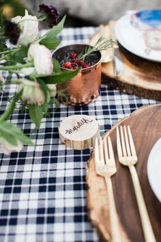 A Woodland Winter Dinner Party