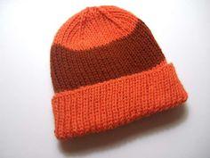 Basic Ribbed Hat - Clothing Knitted My Patterns - - Mama's Stitchery Projects