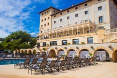 This famed old dame of a five-star hotel built in classic style is a luxurious private hideaway by the sea with magnificent views over Palma Bay. With its Art Nouveau interiors, peaceful ambience, spa and pool, Hospes Maricel promises the perfect retreat close to Palma.