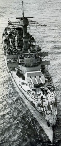 5.9 in light cruiser Leipzig - she was torpedoed by a British submarine in December 1939, repairs taking a year, and then served mainly in the Baltic theatre till critically damaged in a collusion with heavy cruiser Prinz Eugen in October 1944, effectively ending her operational career.  She served as a barracks ship thereafter.