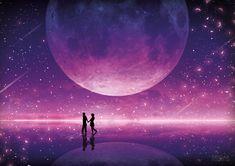 The Night Sky Fantasy Dreamer Love