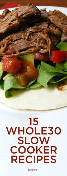 Make your Whole30 as easy as possible by using your slow cooker!