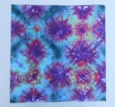 This one reminds me of a kaleidoscope!