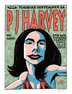 PJ Harvey   by Justin Hampton