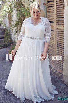 Imported From Abroad Simple Lace Chiffon Maternity Wedding Dresses Empire Waist Sweetheart Ruffle Informal Pregnant Women Reception Bridal Dress Sale Weddings & Events