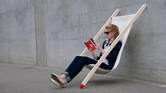 A Deck Chair For Those Who Trust in Science.  I need this.