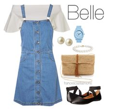 """""""Belle"""" by msfrancescaaloe on Polyvore featuring Glamorous, Hat Attack, Carolee, Blue Nile, Nixon, women's clothing, women's fashion, women, female and woman"""