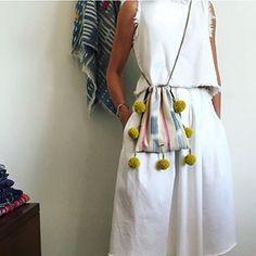 GAIA Pom Pom Bag // #ethicalfashion #fashionforgood www.gaiaforwomen.com