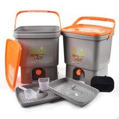 Bokashi Bin Starter Kit (1 x 16L Bucket) from £25.60 Composting Process, Compost Soil, Bokashi, Kitchen Waste, Microorganisms, Food Waste, Starter Kit, Household, Bucket