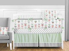 Sweet Jojo Designs Grey, Coral and Mint Woodland Arrow 9 ... https://www.amazon.com/dp/B01HHAWXZU/ref=cm_sw_r_pi_dp_x_MUoqybMJYYVGE