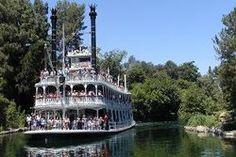 Riverboat in Frontierland, at Disneyland Anaheim, California