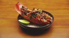 Masala Lobster - Network Ten Lobster Dishes, Lobster Recipes, Seafood Dishes, Masala Sauce, Masala Recipe, Masterchef Recipes, Masterchef Australia, Small Tomatoes, Fresh Coriander