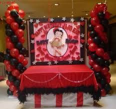 betty boop party ideas - by suzei n