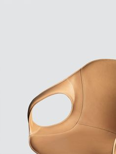 Exciting Leather Upholstry - The Elephant Chair  by Neuland - Kristalia #upholsteredchair #leather #kristalia