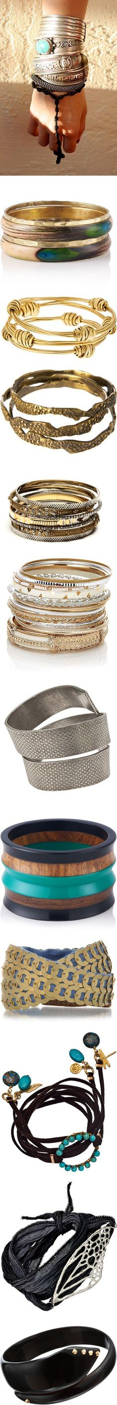 """""""My Favorite Bangles"""" by gangdise on Polyvore"""