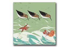 Beach Birds Mural — Charley Harper Prints