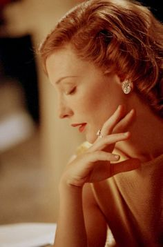 Cate Blanchett as Katherine Hepburn