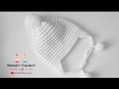 #elifpirenvise #faredişi #knitting Fare Dişi Bere Modeli - YouTube Baby Knitting Patterns, Knitting Designs, Hand Knitting, Crochet Patterns, Knitted Booties, Knitted Hats, Teachers Pet, Baby Hats, Baby Dress