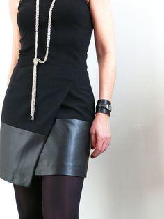 DIY: Une jupe portefeuille asymétrique comme Vanessa B.