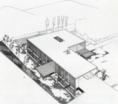 Case Study House #21. Pierre Koenig Architect.