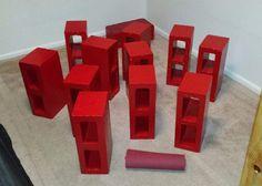 Cinder Block Bed Frame / Storage Bed : 10 Steps (with Pictures) - Instructables Diy Storage Bed, Bed Frame With Storage, Diy Bed Frame, The Block, Cinder, Bedroom Colors, Bedroom Ideas, One Light, Place Mats