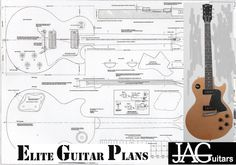 Les Paul Body Template Printable - Invitation Templates
