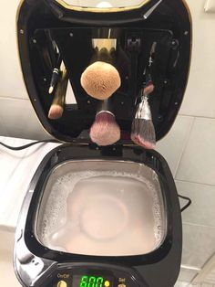 to clean brushes