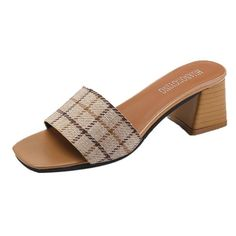 a02e235d54e7a Women Stripe Lattice Slippers Bohemia Flip Flops