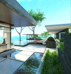 Istana Naithon Estate in Phuket, Thailand by Gfab Architects