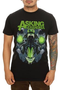Asking Alexandria Teeth Slim-Fit T-Shirt