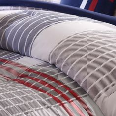 5 Piece Casual Plaid Pattern Full/Queen Size Comforter Set Tattersall Tartan Geometric Lines Classic Printed Checkered Design Bedding Stylish Modern Lodge Cozy Teenage Bedroom Blue Red Grey >>> Check this useful article by going to the link at the image. #BeddingSetsCollections