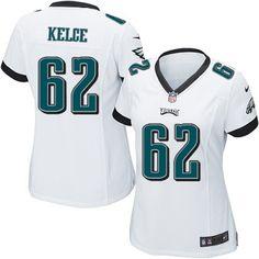 Nike Eagles Jason Kelce White Women's Stitched NFL New Elite Jersey And Ray Lewis jersey Eagles Jersey, Eagles Nfl, Jason Kelce, Chris Long, Ray Lewis Jersey, Desean Jackson, Peter White, Nfl Philadelphia Eagles